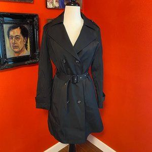 1 MAX MARA Cotton Water-Resistant Trench Coat